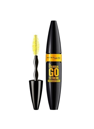 Maybelline The Colossal Go Extreme Leather Black Maskara - Ekstra Siyah Siyah
